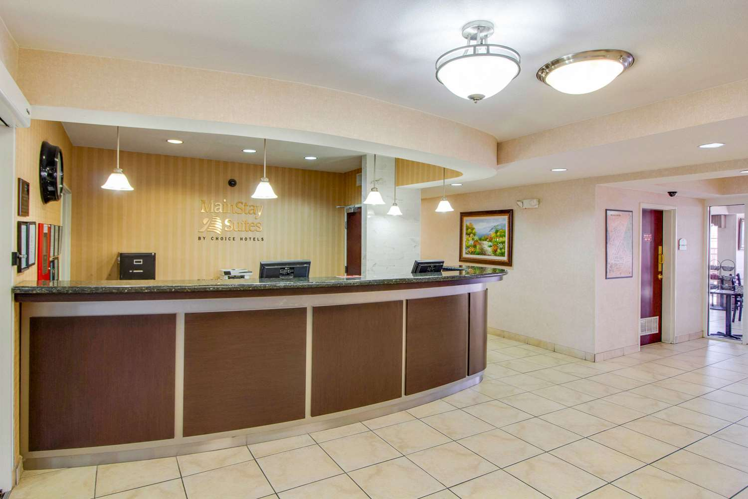 Lobby - MainStay Suites Medical Center Houston