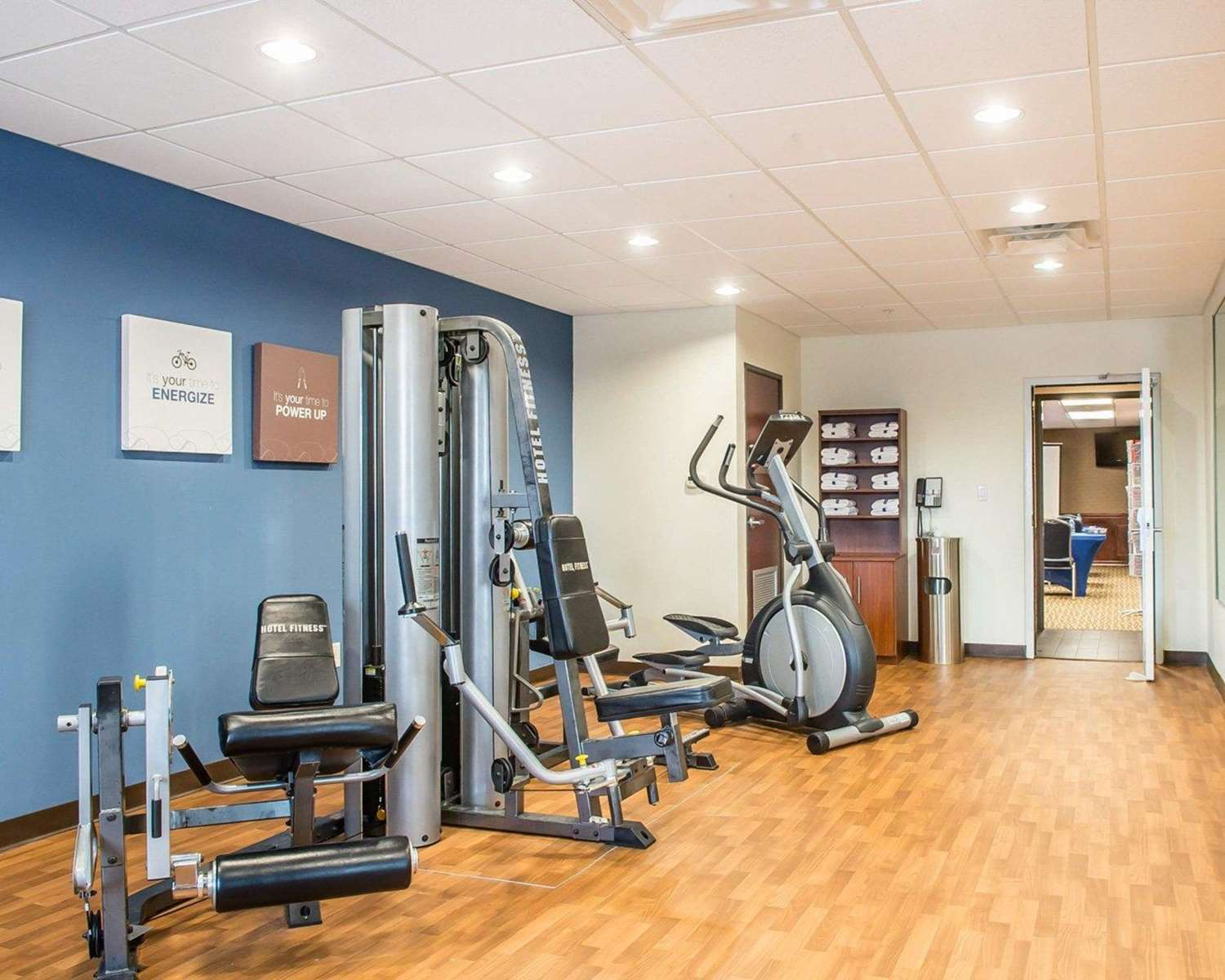 Fitness/ Exercise Room - Comfort Suites Corpus Christi