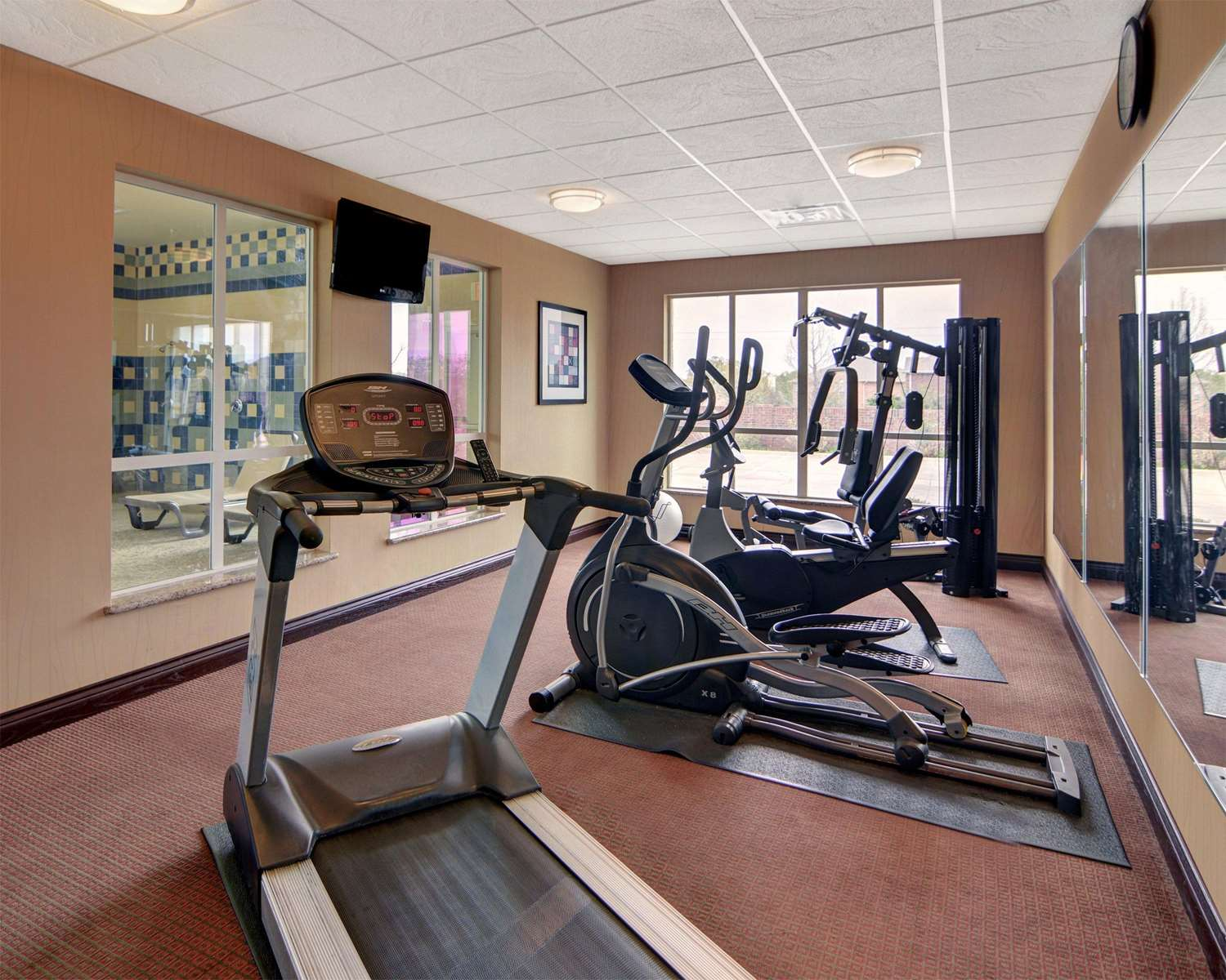 Fitness/ Exercise Room - Comfort Inn & Suites Corinth
