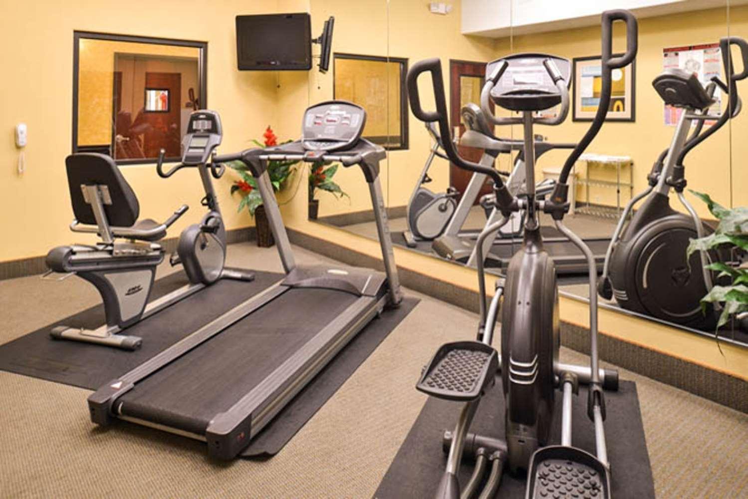 Fitness/ Exercise Room - Sleep Inn & Suites Downtown Houston