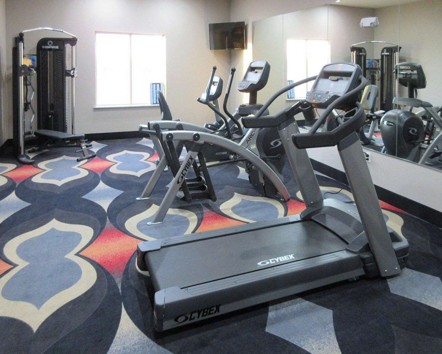 Fitness/ Exercise Room - MainStay Suites Odessa