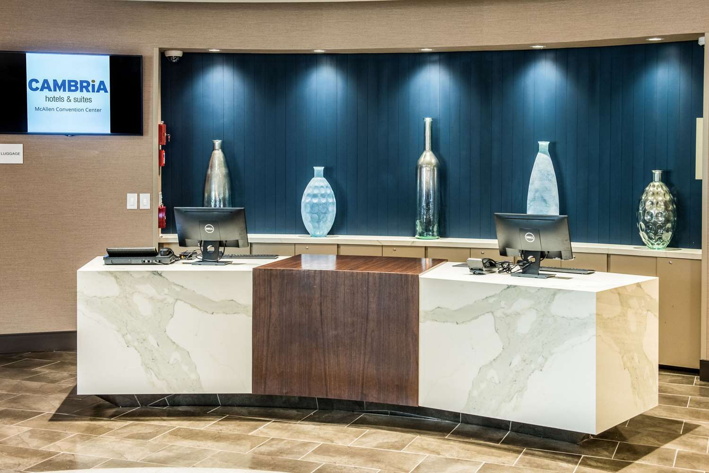 Lobby - Cambria Hotel & Suites McAllen Convention Ctr