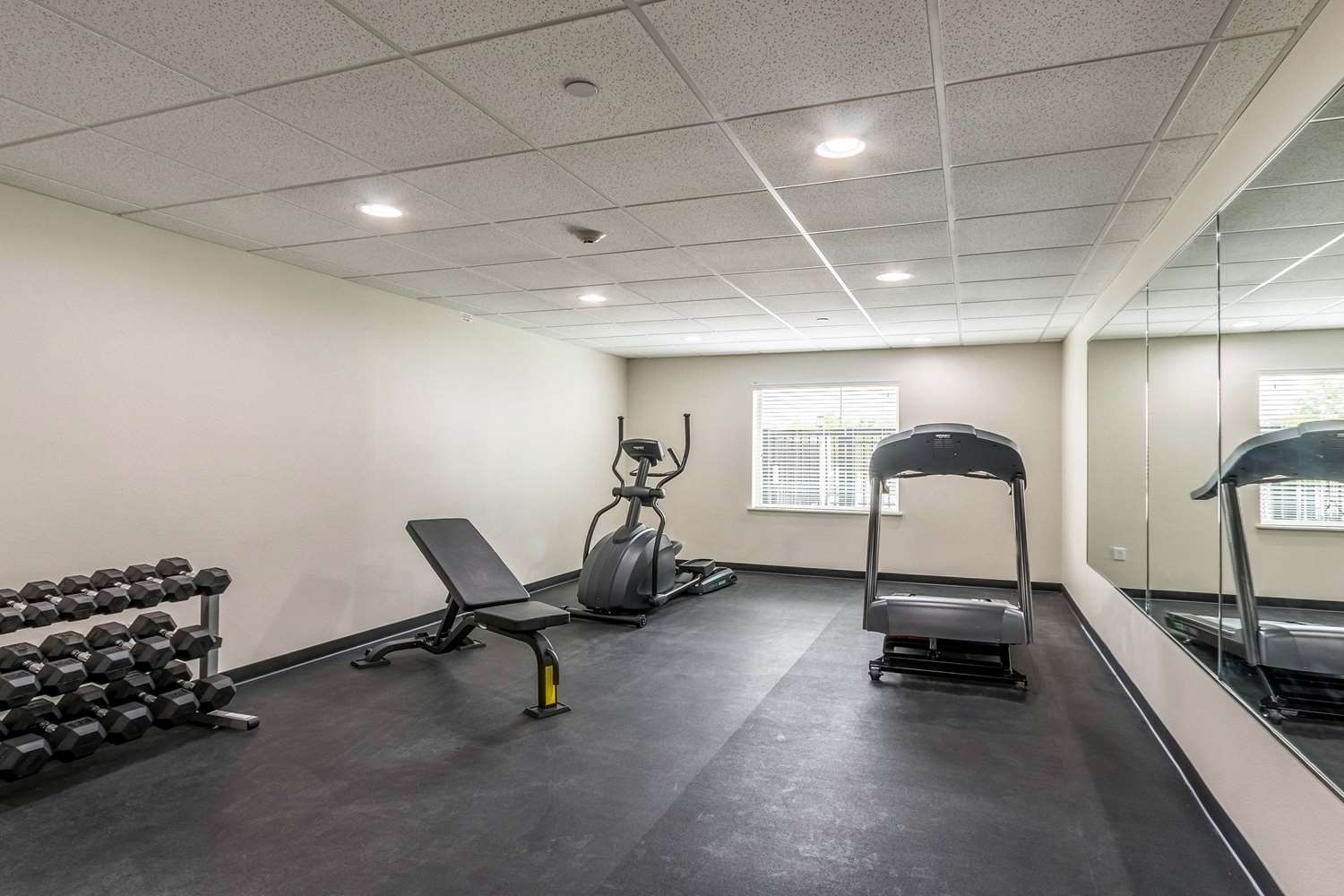 Fitness/ Exercise Room - Sleep Inn & Suites College Station