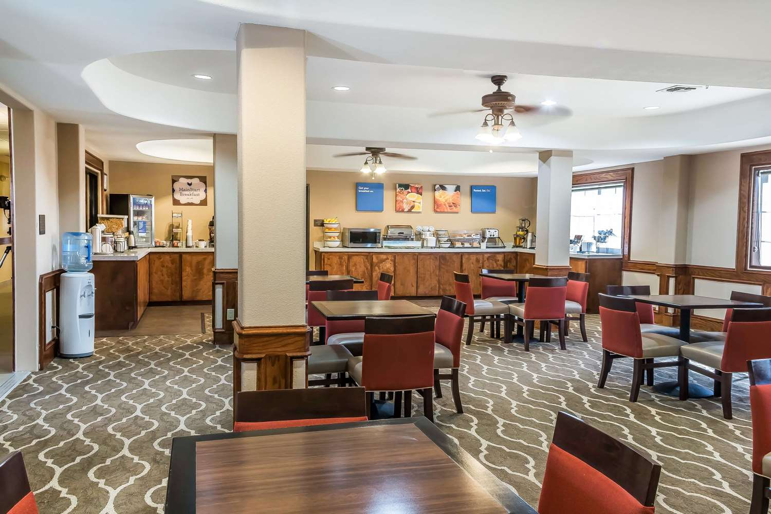 Restaurant - Mainstay Suites Edinburg