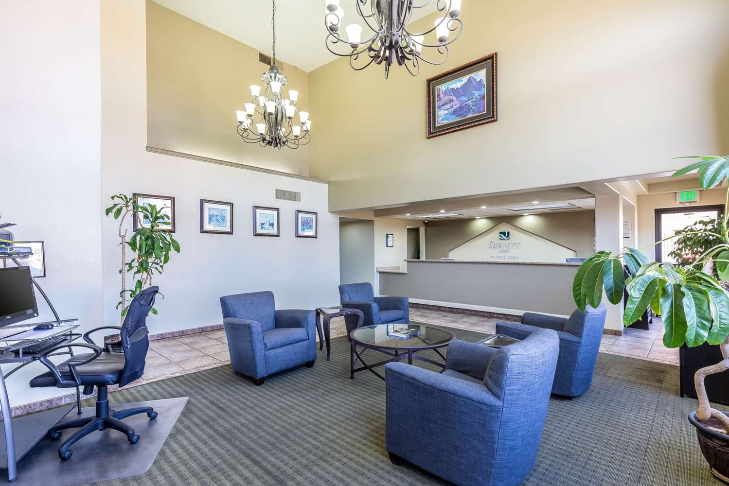 Lobby - Quality Inn Red Cliffs Washington