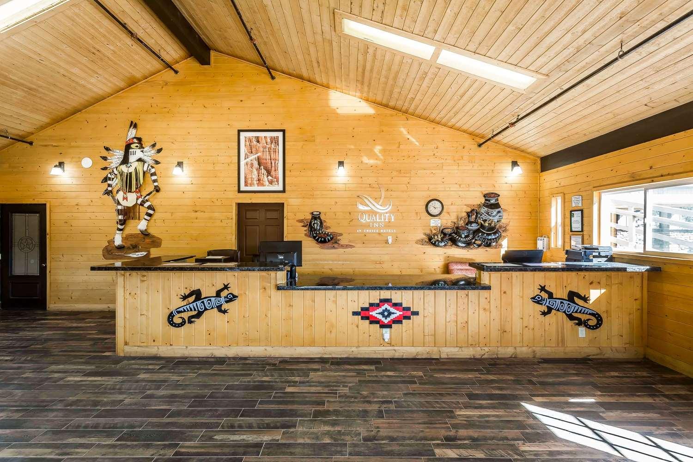 Lobby - Quality Inn Bryce Canyon Panguitch