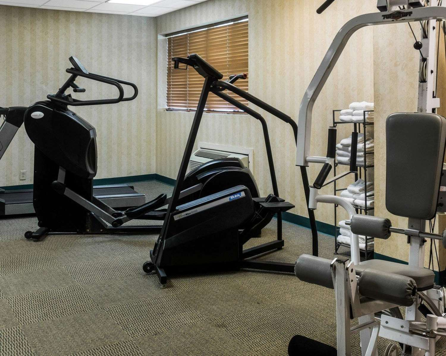 Fitness/ Exercise Room - Quality Suites Lake Wright Norfolk