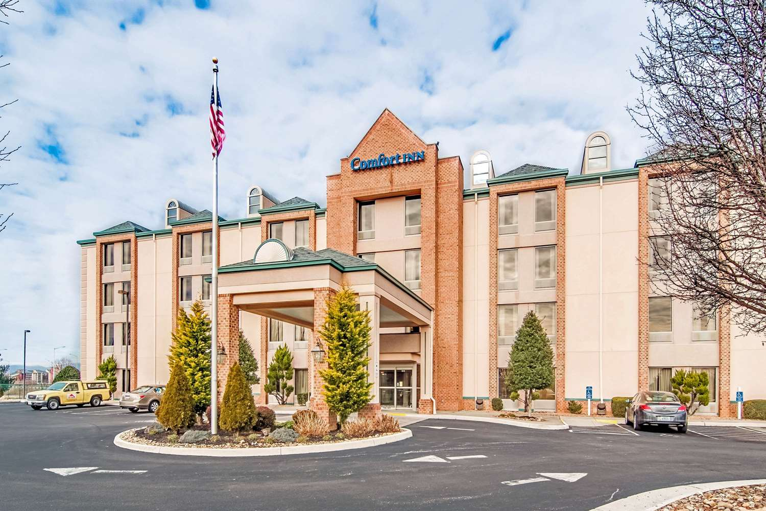 Exterior view - Comfort Inn Roanoke