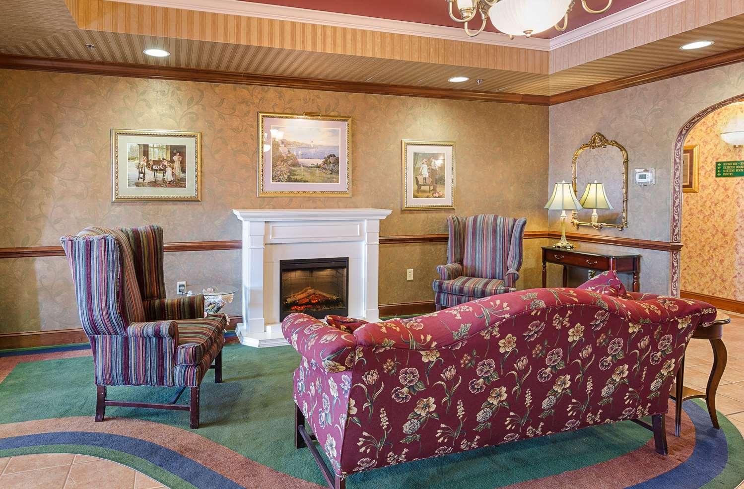 Lobby - MainStay Suites Airport Roanoke