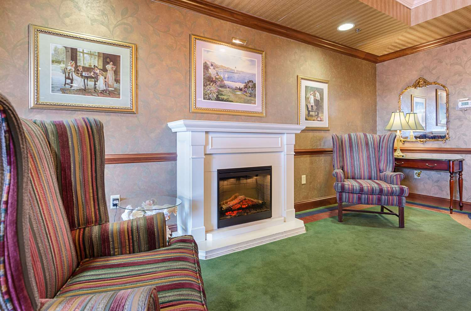 Lobby - MainStay Suites Airport Roanoke