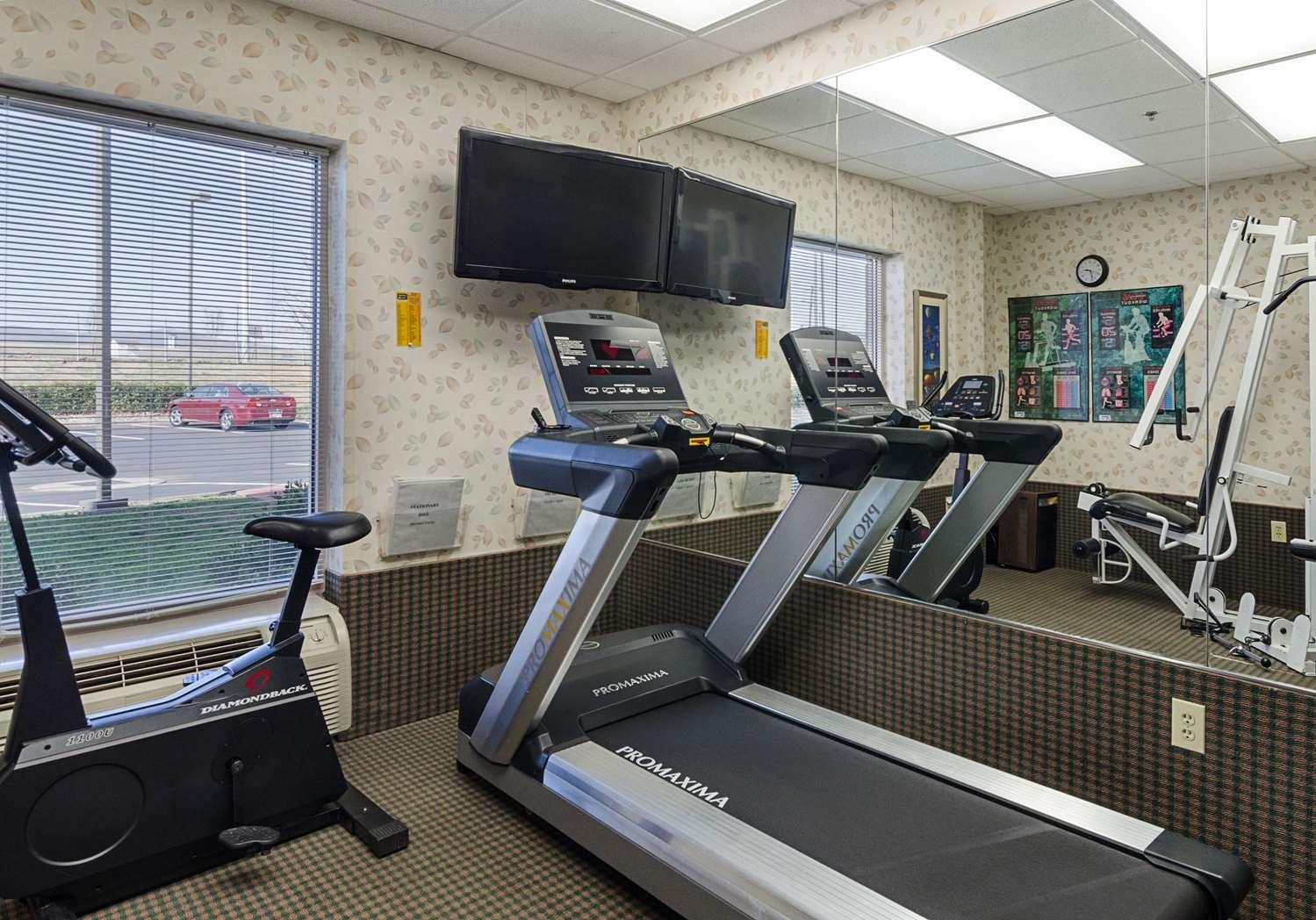 Fitness/ Exercise Room - MainStay Suites Airport Roanoke