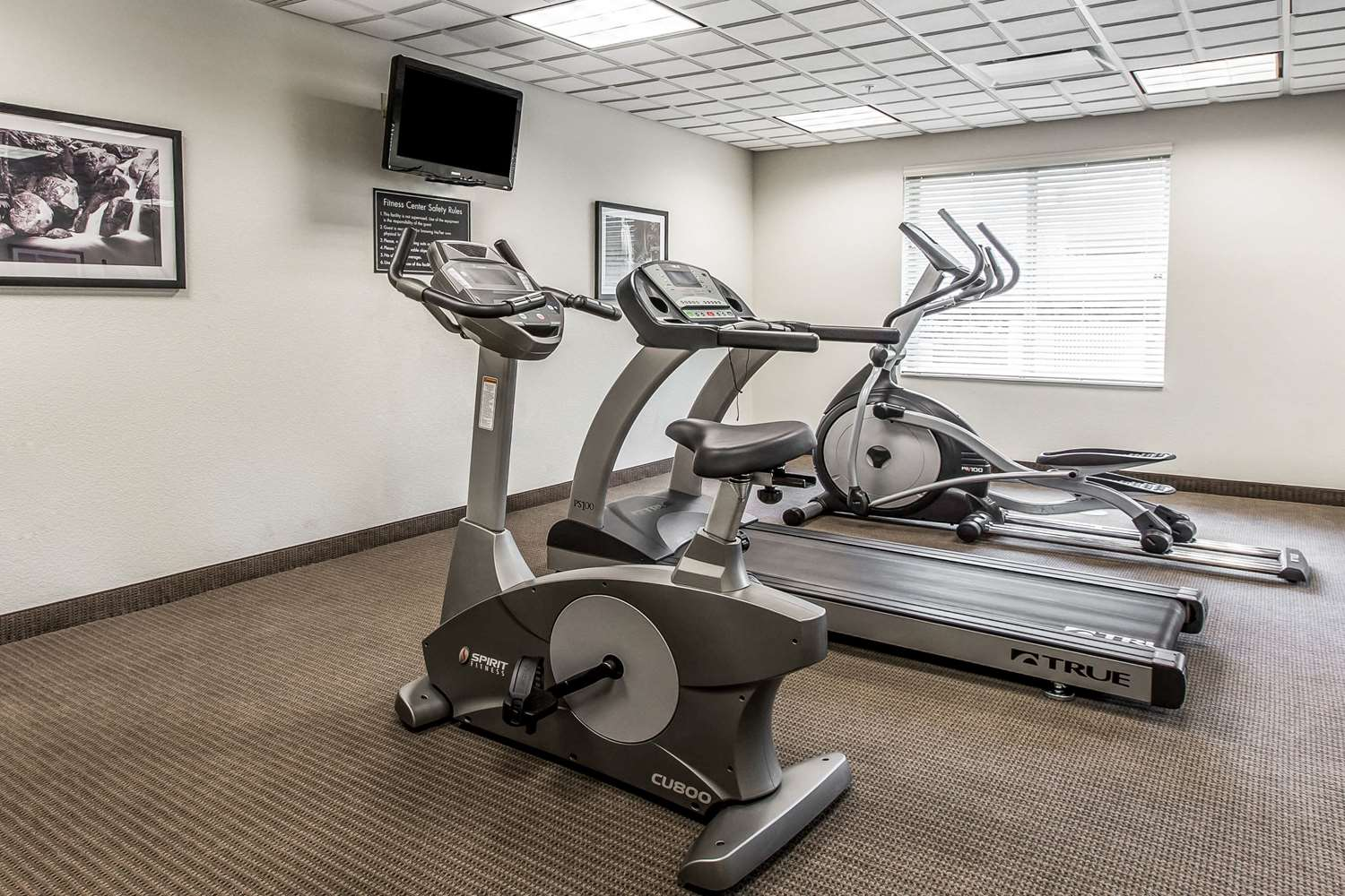 Fitness/ Exercise Room - Sleep Inn & Suites Clintwood