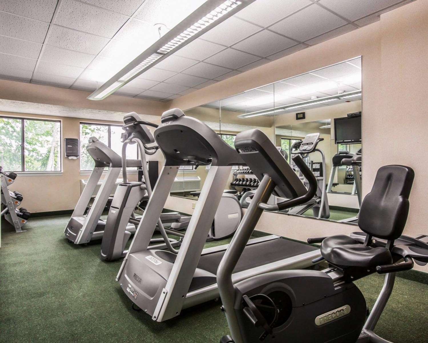 Fitness/ Exercise Room - Comfort Inn & Suites at Maplewood Montpelier