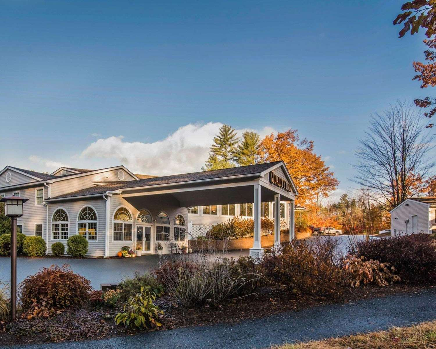 Exterior view - Quality Inn at Quechee Gorge