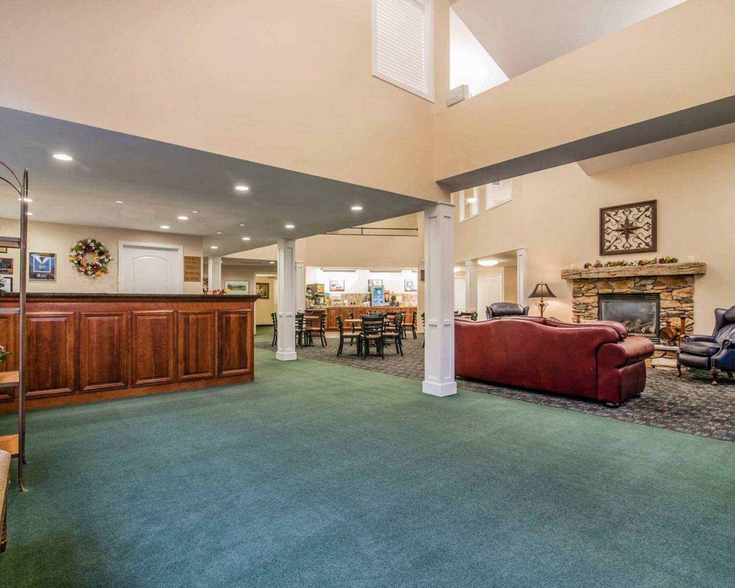 Lobby - Quality Inn at Quechee Gorge