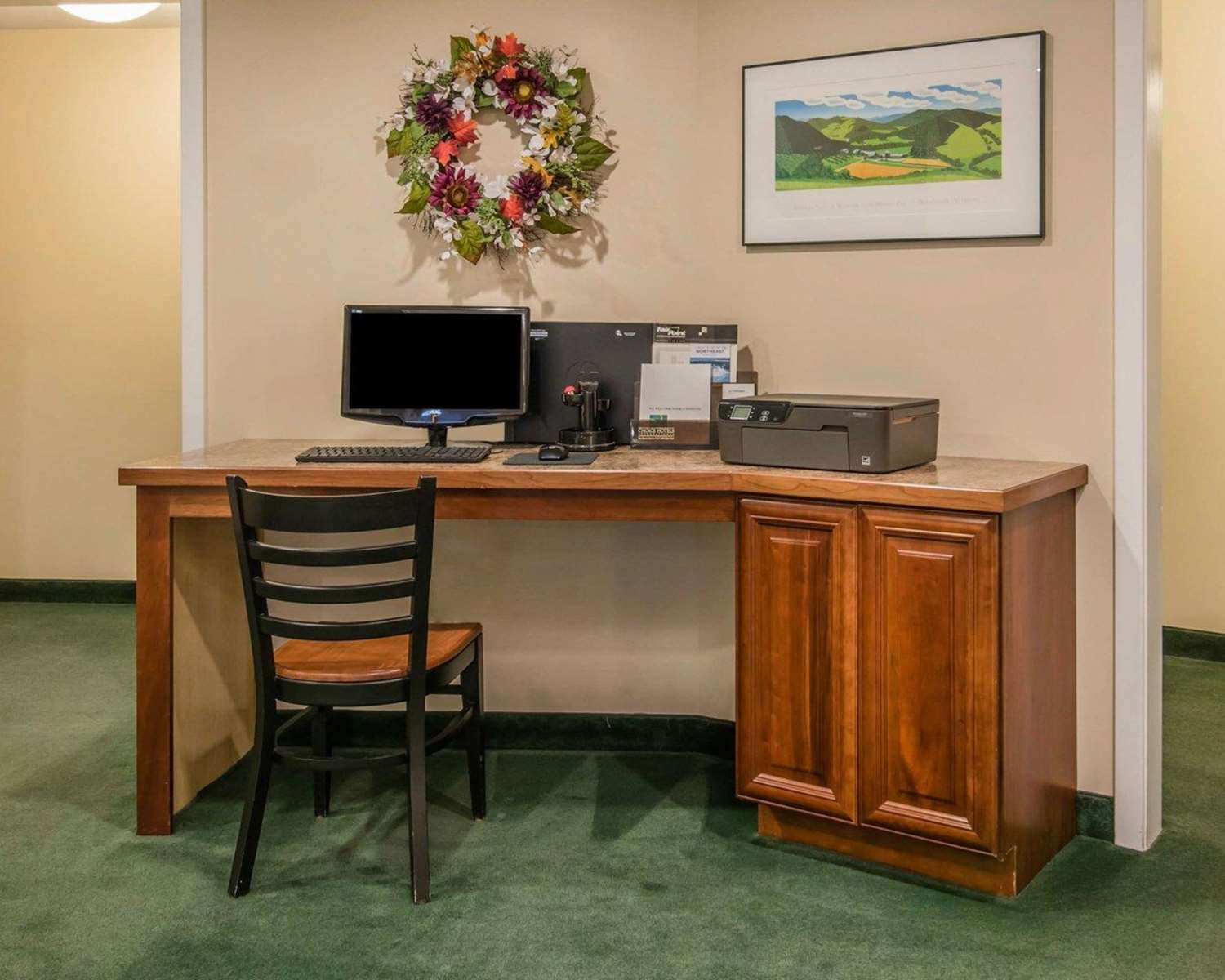 Conference Area - Quality Inn at Quechee Gorge