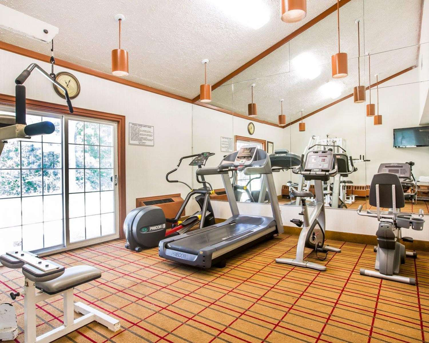 Fitness/ Exercise Room - Quality Inn & Conference Center Brattleboro