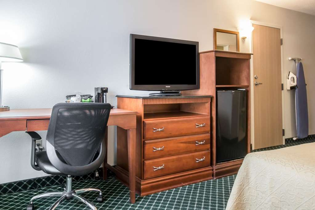 Guest room with added amenities