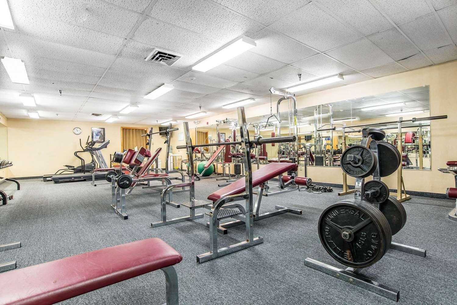 Fitness/ Exercise Room - Quality Inn Shelburne
