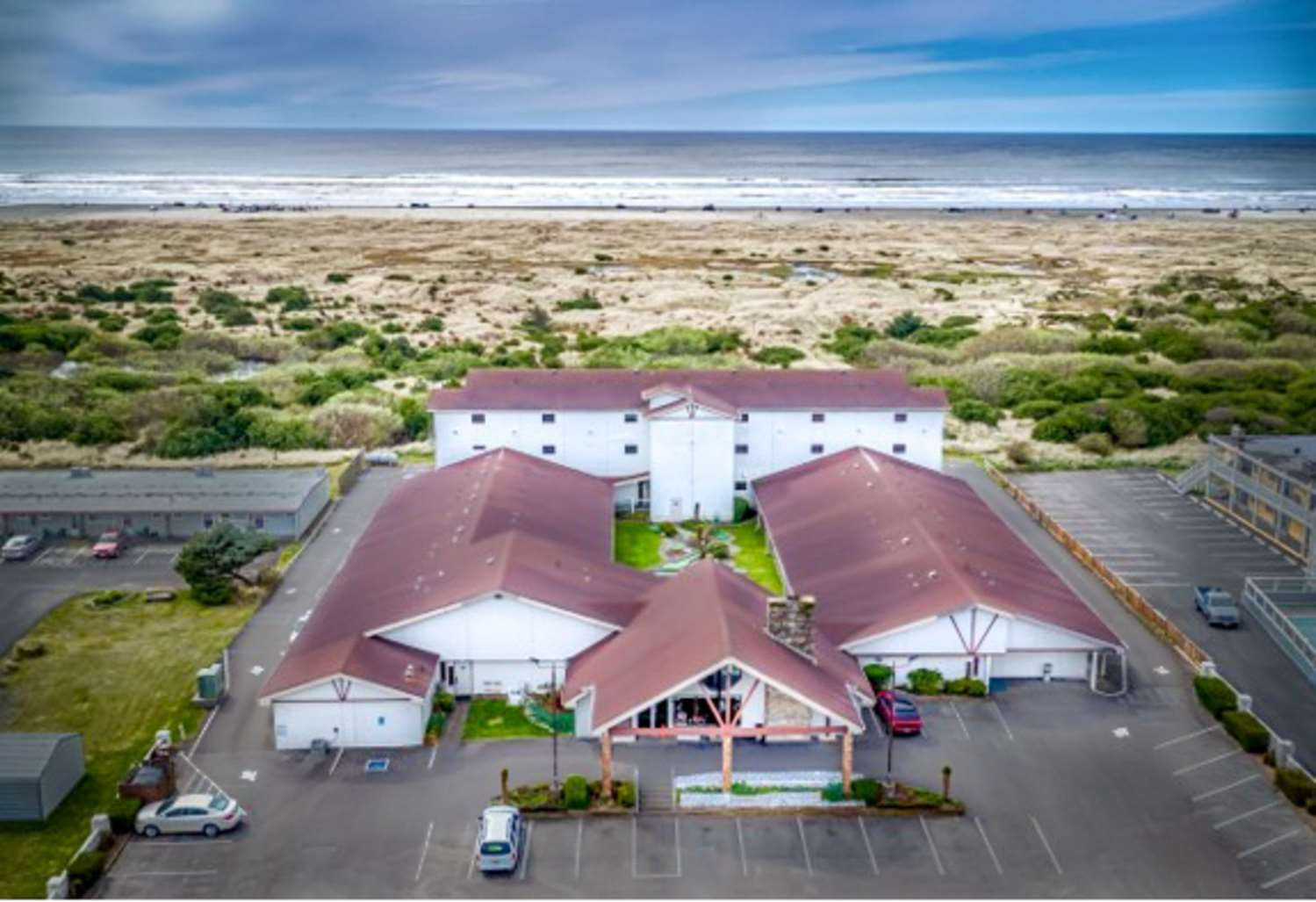 Exterior view - Quality Inn Ocean Shores