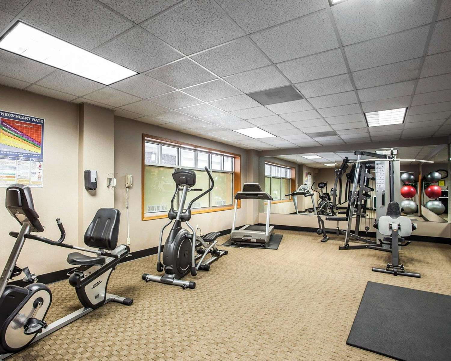 Fitness/ Exercise Room - Quality Inn & Suites Seattle