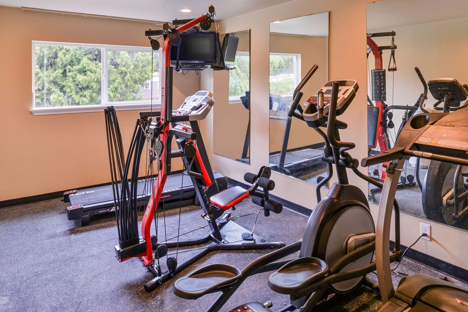 Fitness/ Exercise Room - Quality Inn Kent