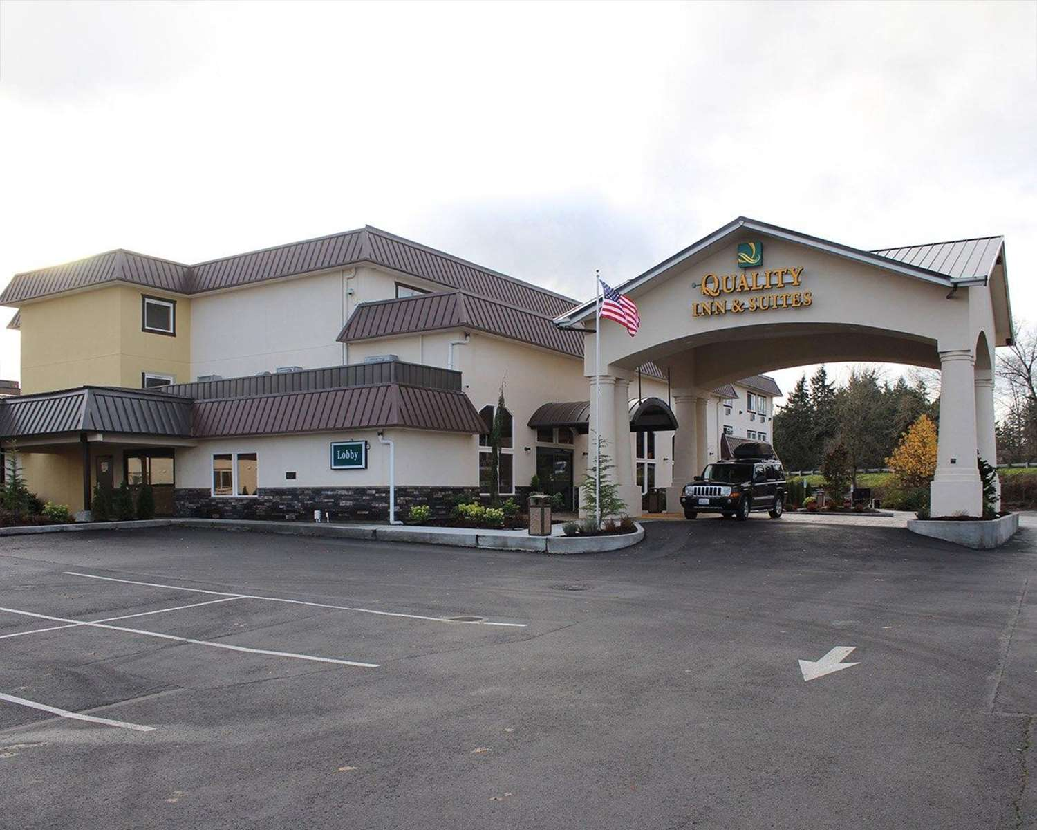 Exterior view - Quality Inn & Suites Tacoma