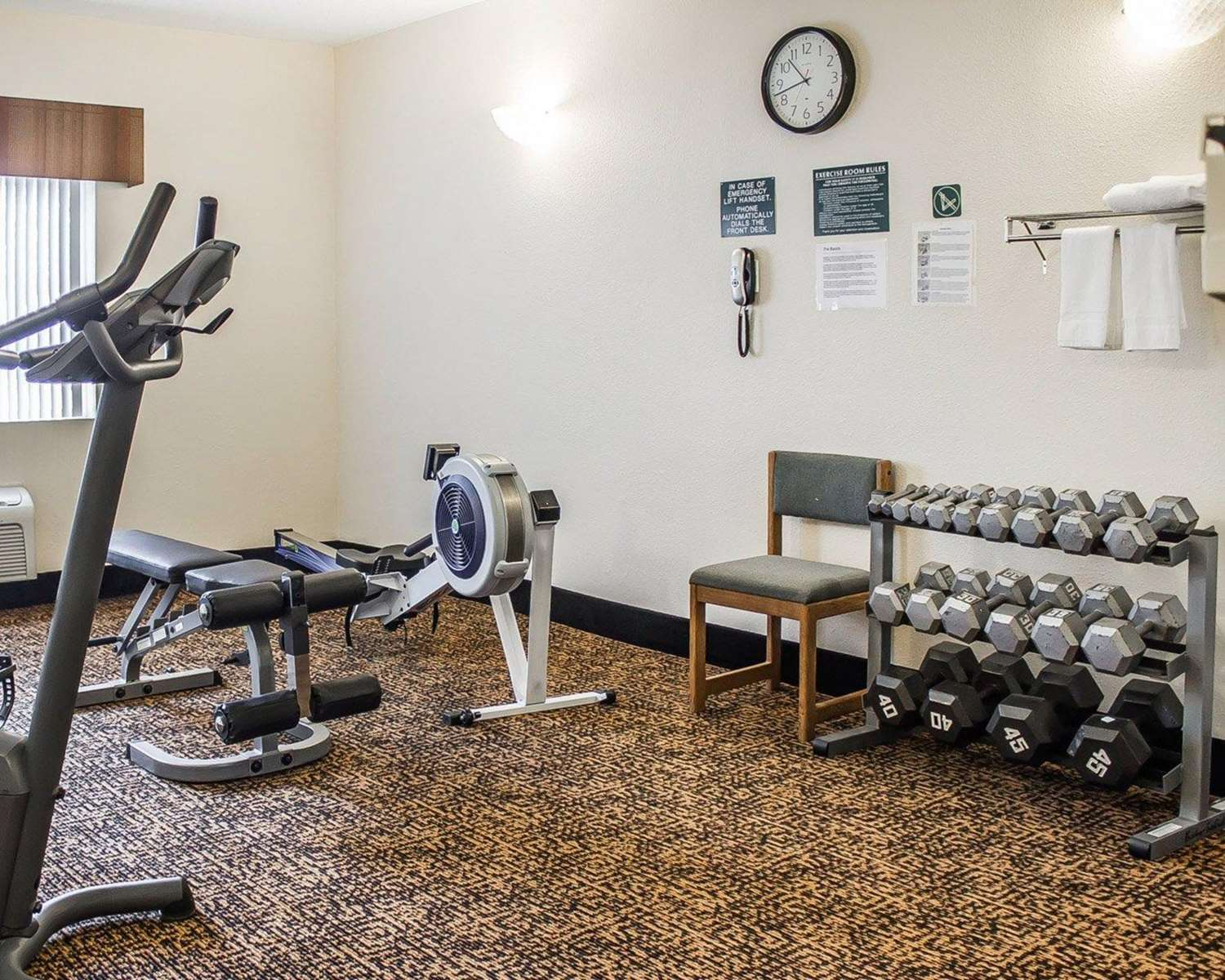Fitness/ Exercise Room - Quality Inn Manitowoc