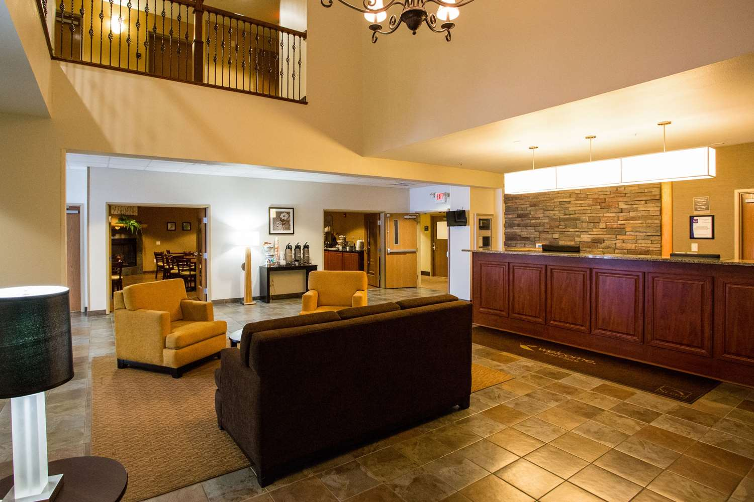 Lobby - Sleep Inn & Suites Conference Center Eau Claire