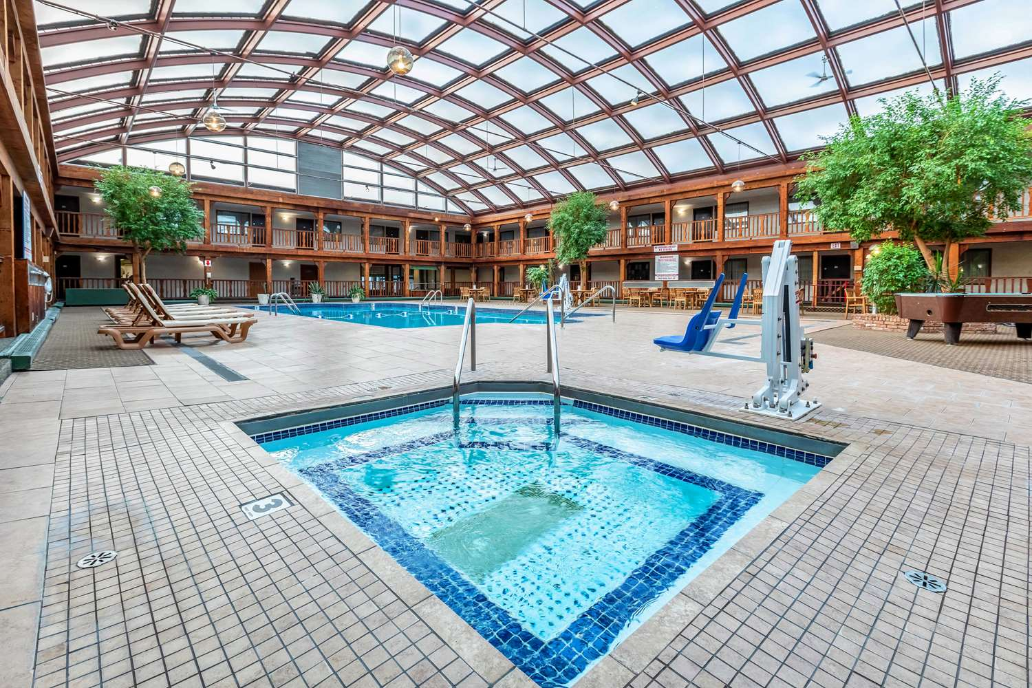 Pool - Quality Inn Wausau