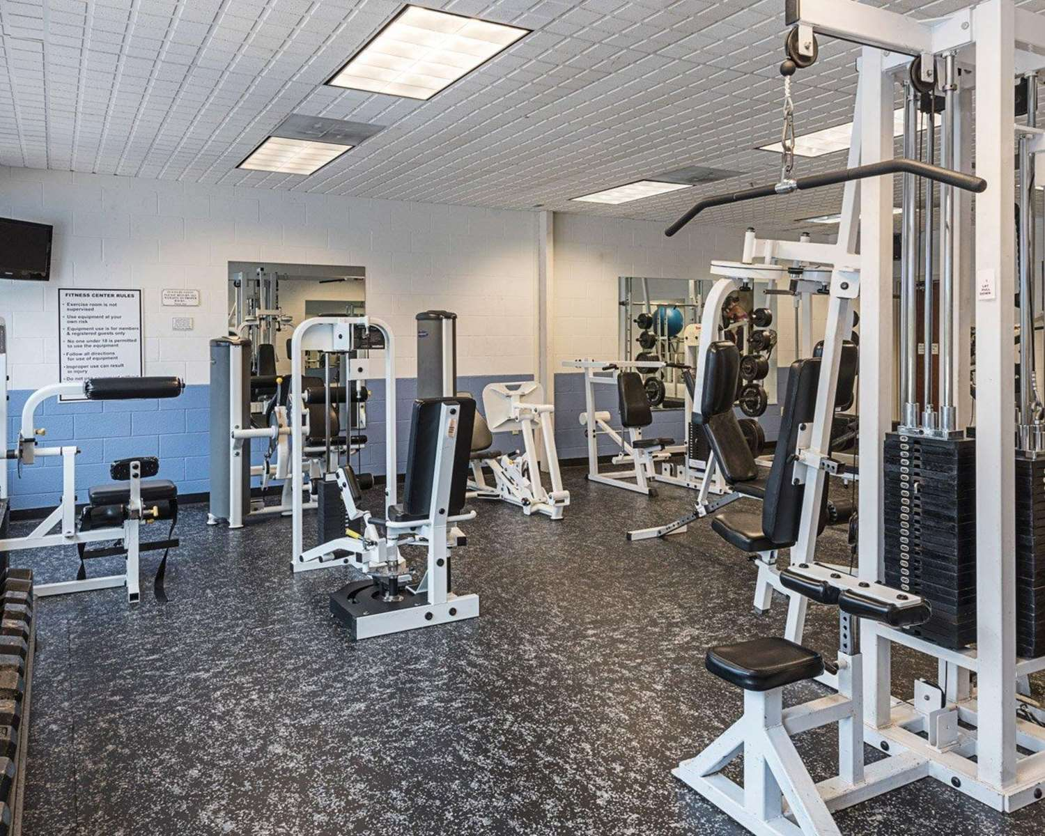 Fitness/ Exercise Room - Clarion Hotel & Conference Center Shepherdstown