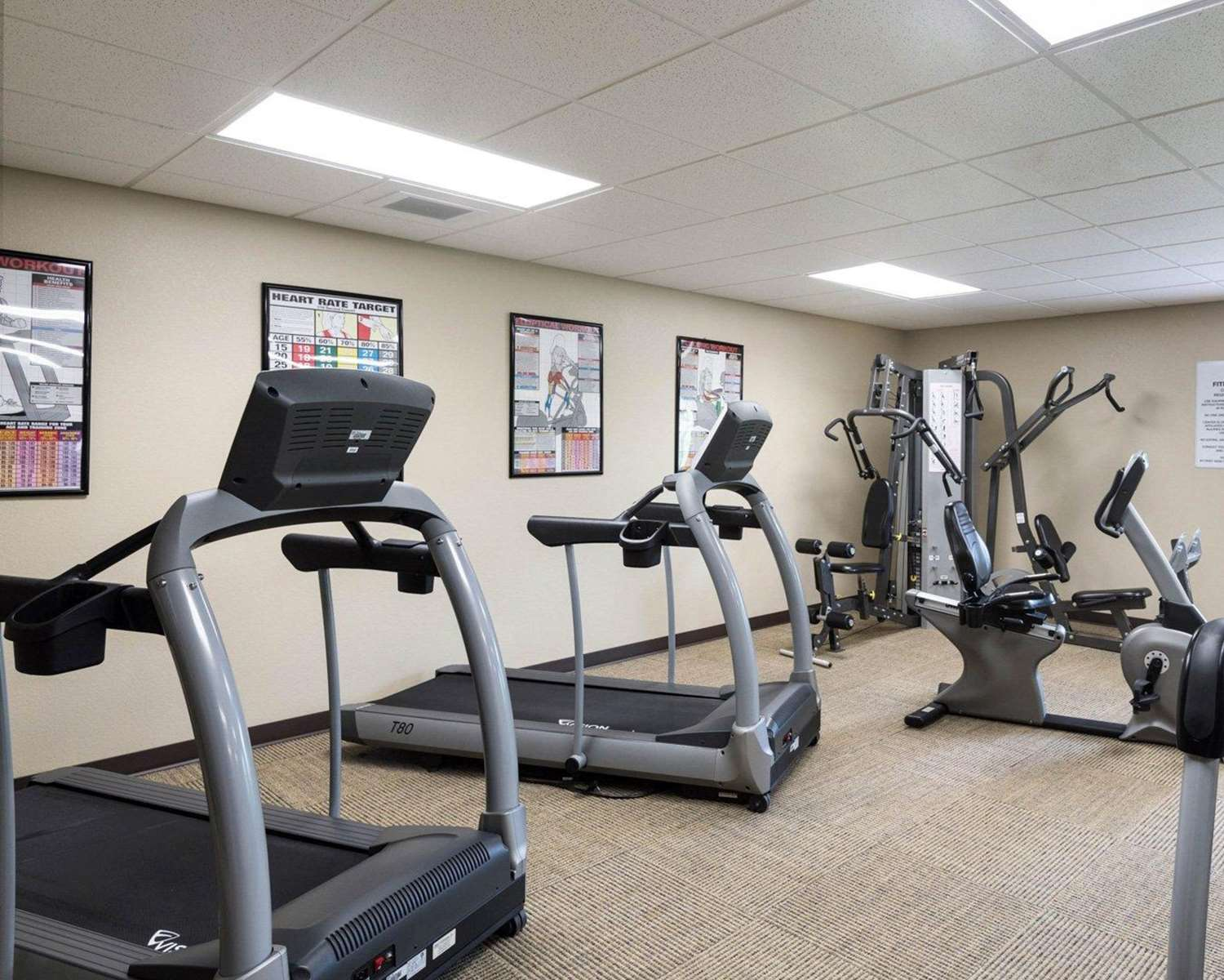 Fitness/ Exercise Room - Suburban Extended Stay Hotel Triadelphia