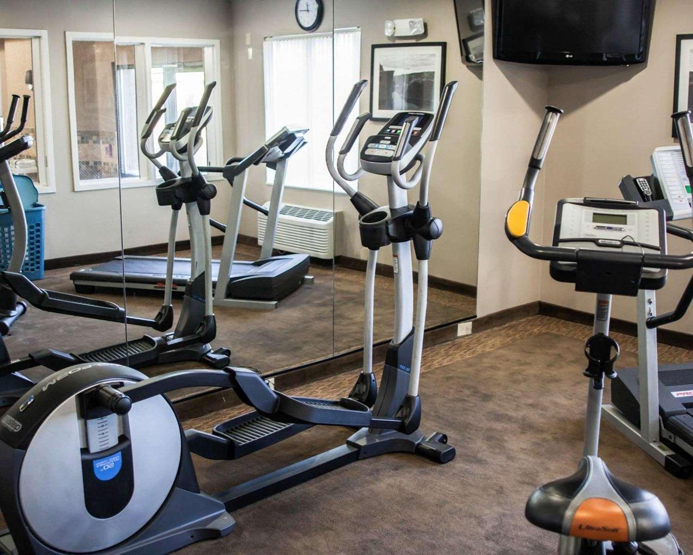 Fitness/ Exercise Room - Sleep Inn & Suites Topeka