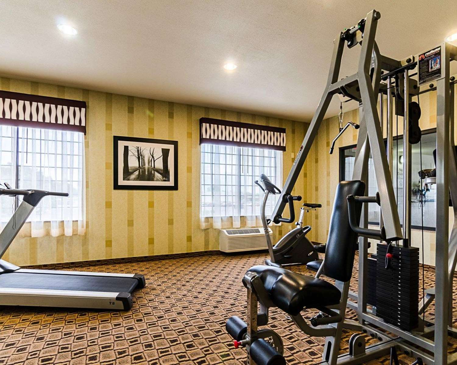 Fitness/ Exercise Room - Comfort Inn & Suites Lawrence