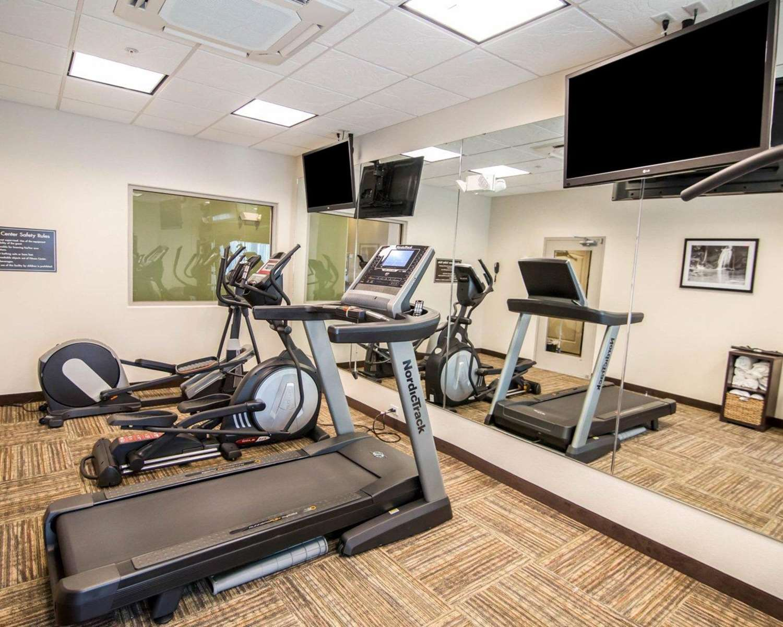 Fitness/ Exercise Room - Sleep Inn & Suites Garden City
