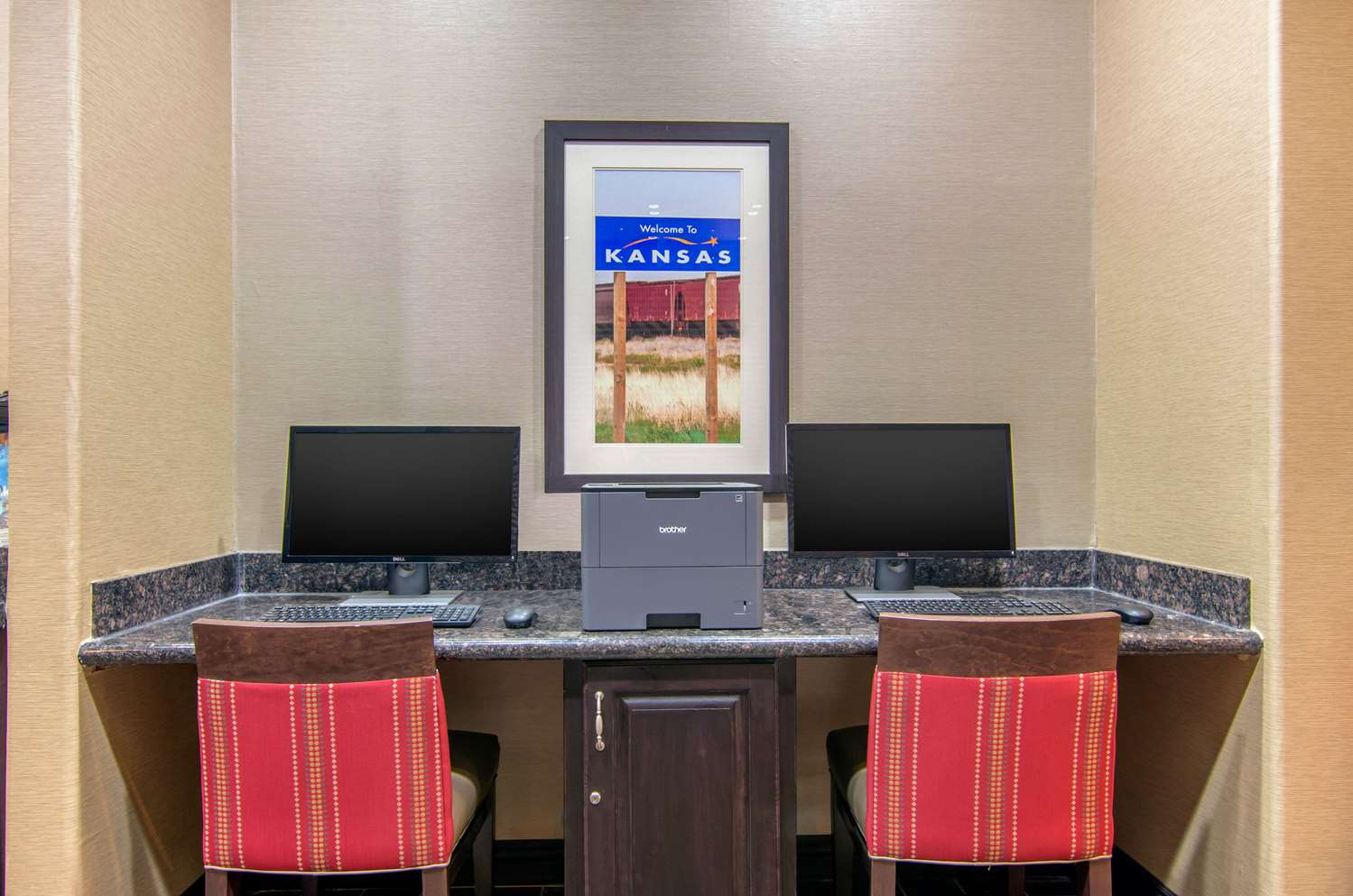 Conference Area - Comfort Inn & Suites Shawnee