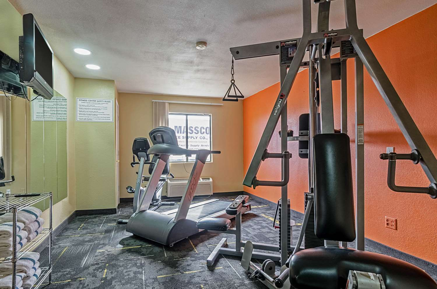 Fitness/ Exercise Room - Quality Inn South Wichita