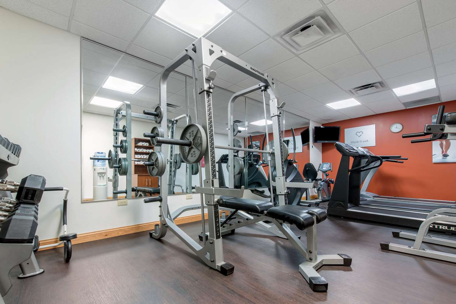 Fitness/ Exercise Room - Comfort Suites Airport Louisville