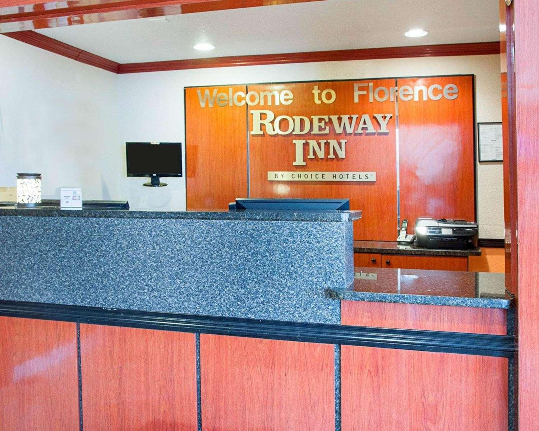 Lobby - Rodeway Inn Florence