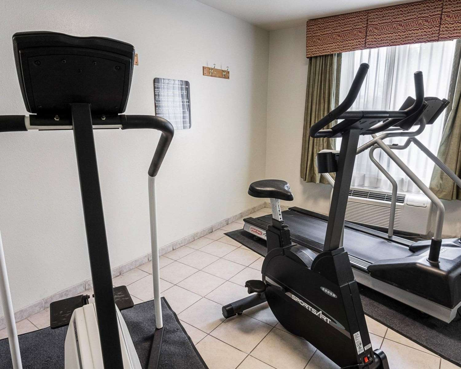 Fitness/ Exercise Room - Quality Inn & Suites Bossier City