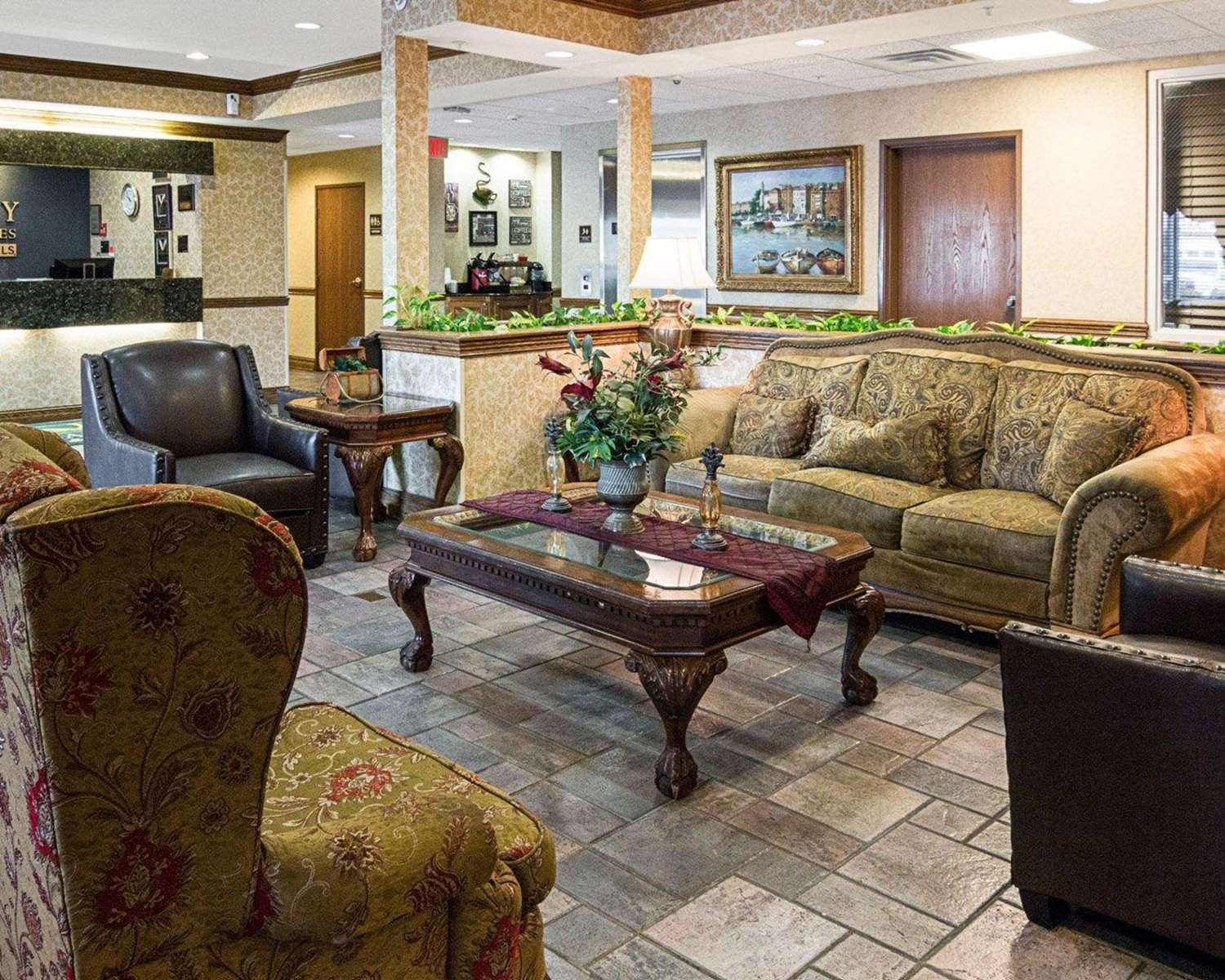 Lobby - Quality Inn & Suites Bossier City