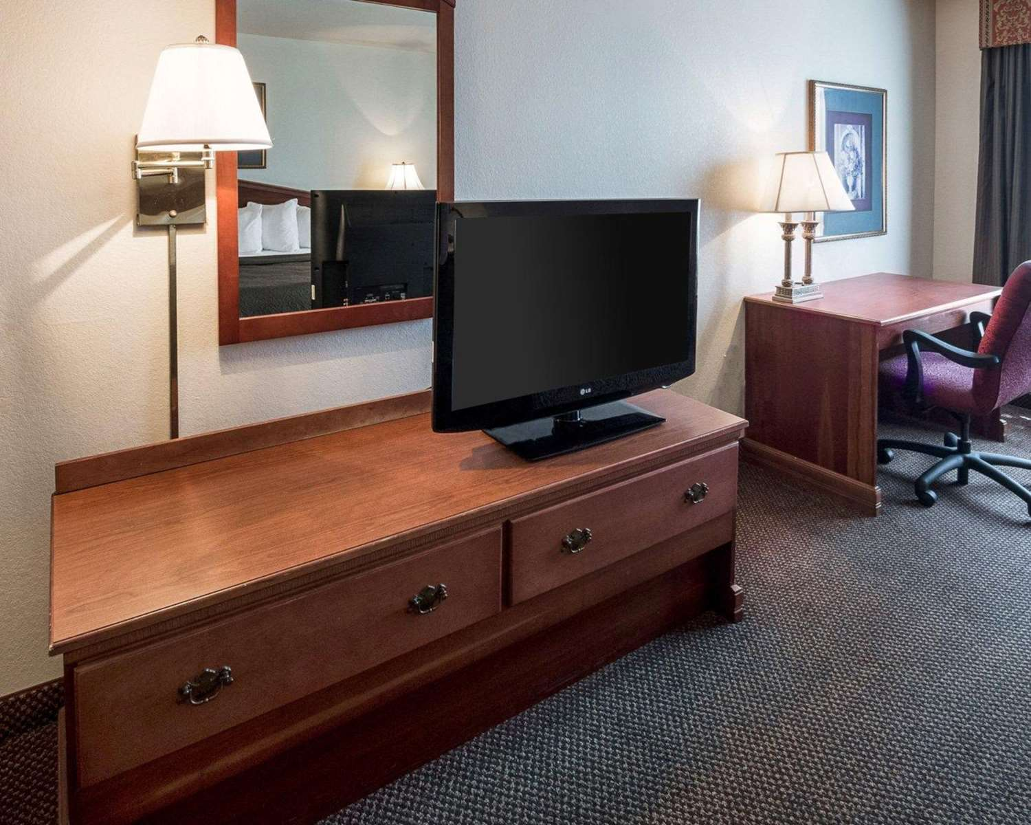Room - Quality Inn & Suites Bossier City