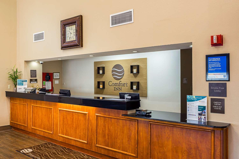 Lobby - Comfort Inn Baton Rouge