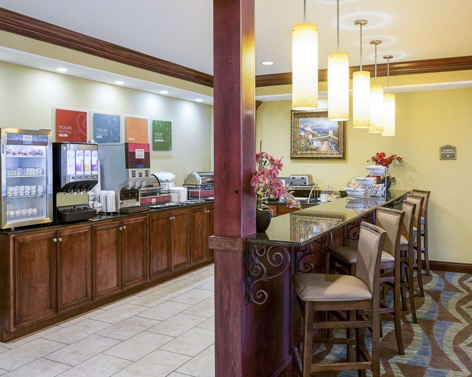 Restaurant - Comfort Suites Harvey
