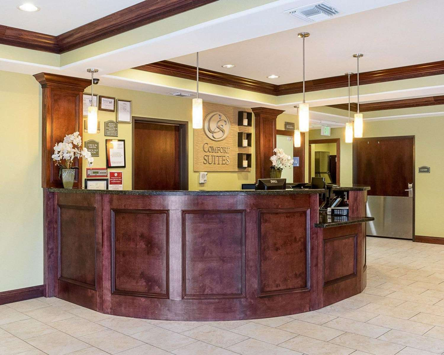 Lobby - Comfort Suites Harvey