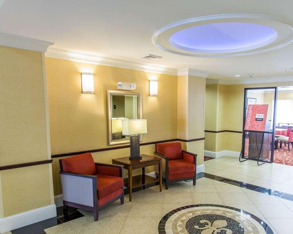 Spacious lobby