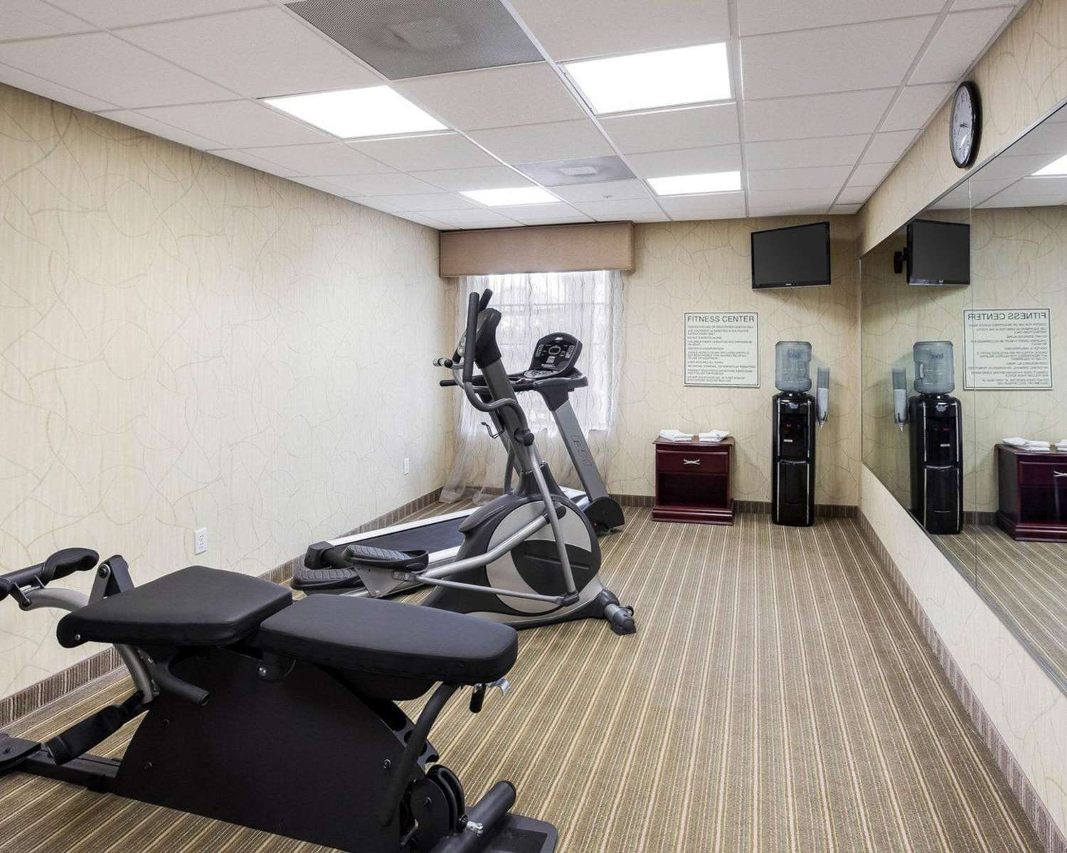 Fitness/ Exercise Room - MainStay Suites Houma
