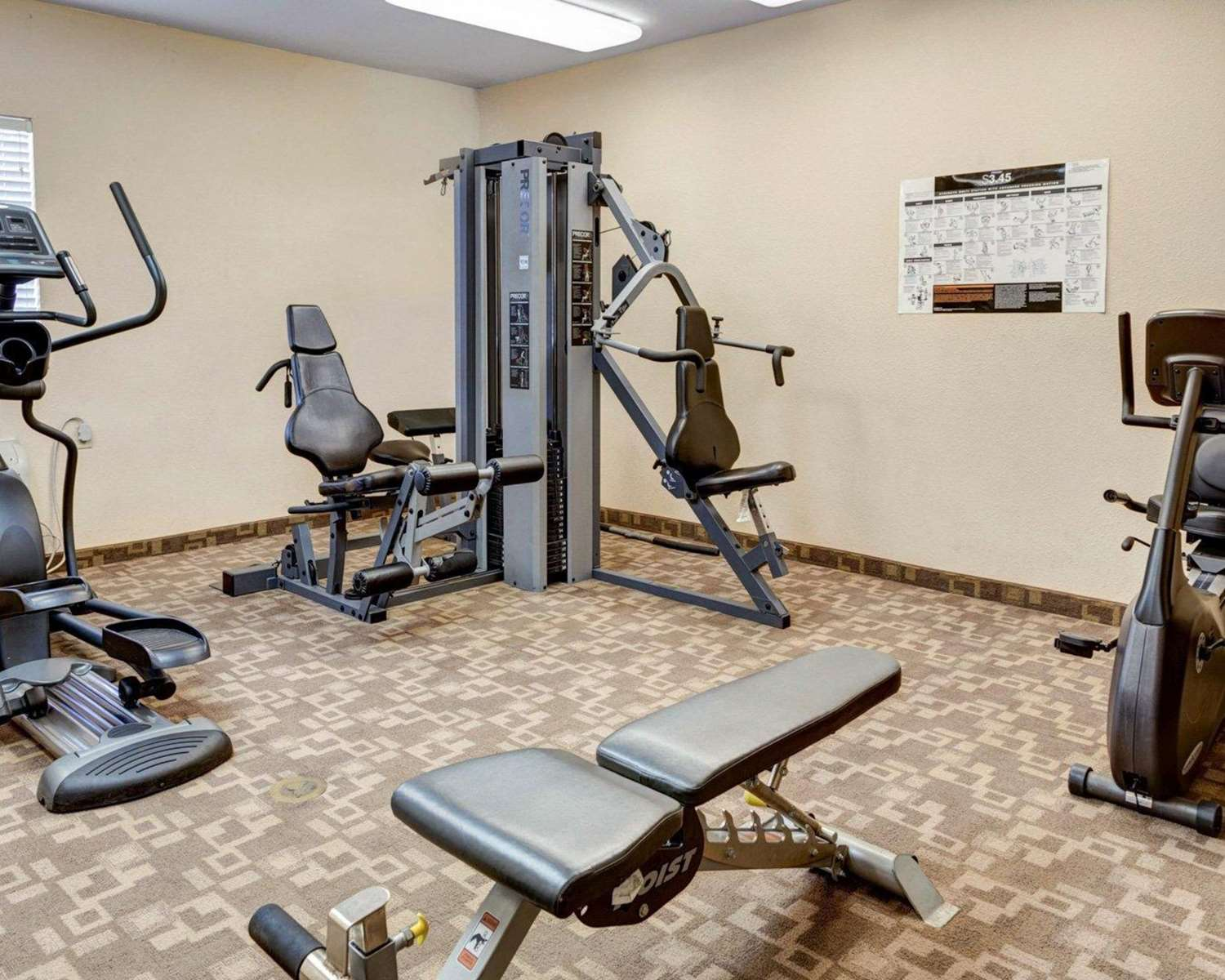 Fitness/ Exercise Room - Suburban Extended Stay Hotel LaPlace
