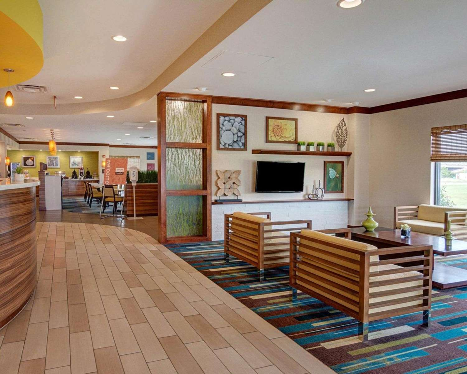 Lobby - Comfort Suites Bossier City