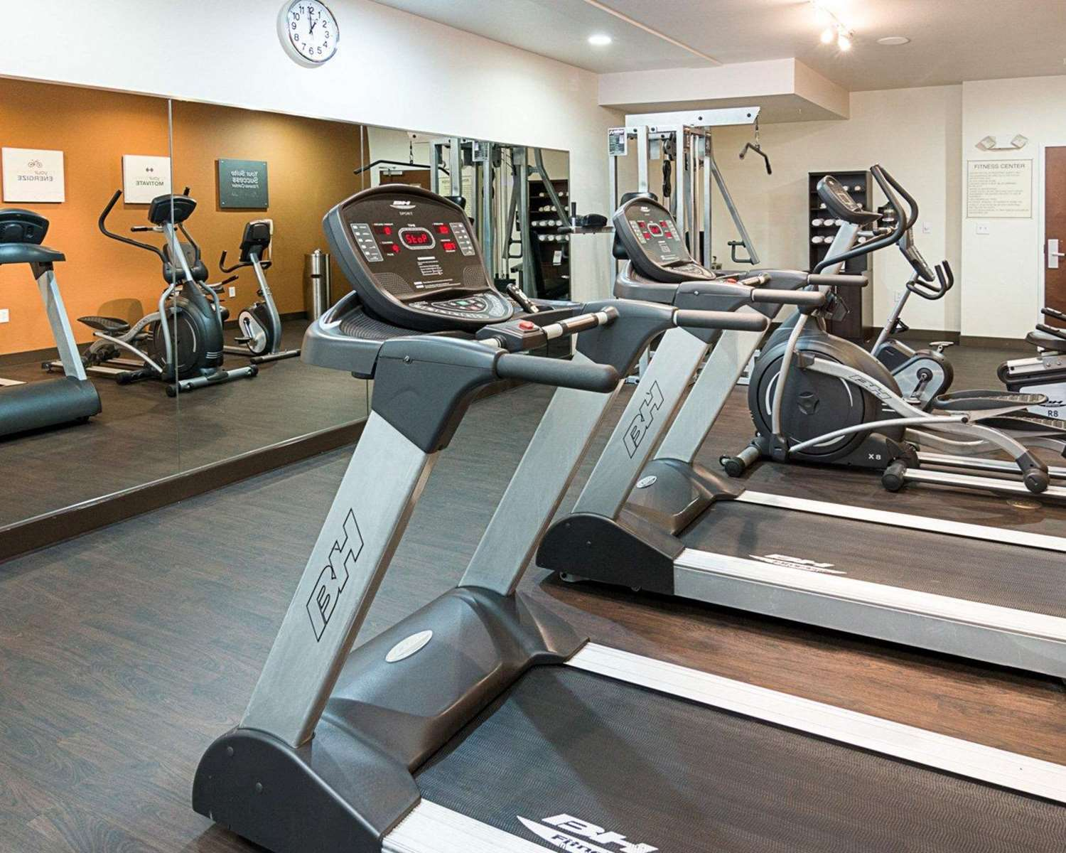 Fitness/ Exercise Room - Comfort Suites Natchitoches